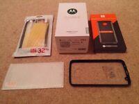 Brand New Motorola Moto Z Play Unlocked with JBL Moto Z Sound Mod. better than samsung s7, iphone 7