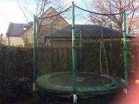 8ft TP Trampoline with surround