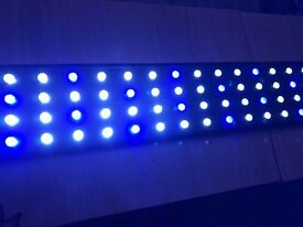 4 ft LED Lights Tropical/Marine Fish Tank Aquarium