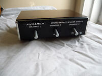 realistic 3 way speaker switch 40 - 125a