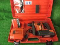 Hilti TE 6A Hammer Drill 36v ( New Battery )