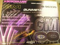 BM Boschmann G-9633s 400 watt speakers.