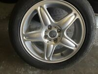 "mini 1 series alloy wheel 15"" NO TYRE £75 ONO call 07860431401"