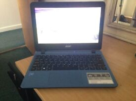 """USED ONCE! Acer Aspire 1 A111-31 11.6"""" Cloudbook Laptop - Blue"""