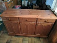 Pine sideboard in great condition