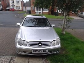 Mercedes Benz 320 clk - quick sale