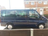 Ford Transit Torneo, 2008 12 MONTHS MOT blue other, Manual Diesel, 122,000 miles in Yeovil