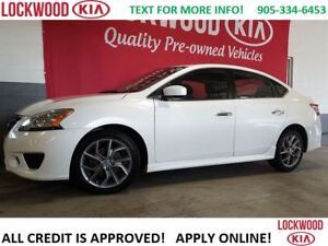 2013 Nissan Sentra SR PACKAGE - 2.0L ENGINE, SMART KEY, ALLOYS