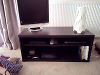 TV bench MOSJÖ Black-brown – Used LIKE NEW !!!