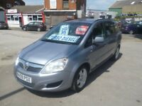 Vauxhall ZAFIRA Exclusiv CDTI Auto,1910 cc 7 seat MPV,FSH,1 previous owner,tow bar fitted,only 67k