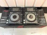 PIONEER CDJ 2000 NEXUS PAIR BOXED MINT DJM DDJ XDJ