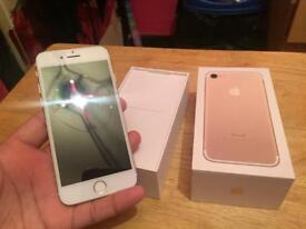 Iphone 7 - 32gb - unlocked - boxed - needs repairs