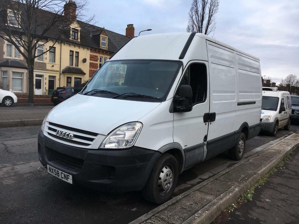 58 PLATE IVECO DAILY 2 3 HPI MWB 120K MILLAGE TURNS OVER BUT WONT START  SPARE OR REPAIR | in Grangetown, Cardiff | Gumtree