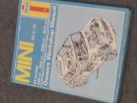 Haynes manual for a mini