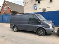 Ford transit 2.2 2007 (Engine Blown) spares or repairs