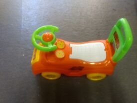 Ride on toy, suitable for under 2yo
