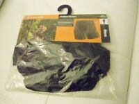 MENS Tenn Active Padded Cycling Boxers Black (Sizes: Small, Medium, Large & Extra Large)