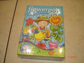 Children's Flower Pot Game