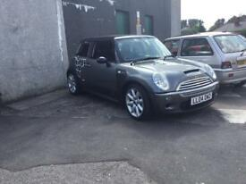 Mini Cooper s breaking parts only