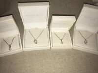 **4 Ivory & Co Necklaces**