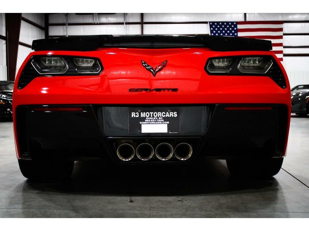 2015 Red Chevrolet Corvette   | C7 Corvette Photo 4