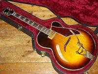 Gretsch Synchromatic 400CV hollowbody 1994 made in Japan with Bigsby tremolo and Filtertron pickup