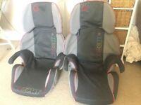2x child car seats