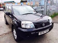 NISSAN X TRAIL DIESEL MANUAL DCI 136 SE BLACK 2006 FULL HISTORY AIR CON ALLOYS