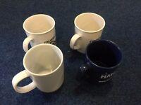 4 mugs_£1 for ALL
