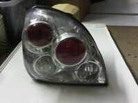 ford fiesta mk4/mk5 rear lights complete with bulb holders