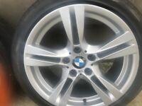 18 Inch X1 BMW ALLOY WHEELS 335 M Sport
