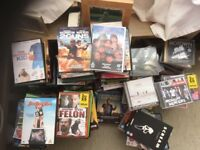 Mixed DVD's & CD's