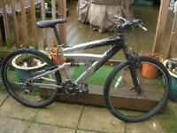 Raleigh Mountain Bike 26 inch wheels