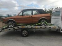 Golf Mk1 1.6 auto breaking all parts available can post based in Birmingham