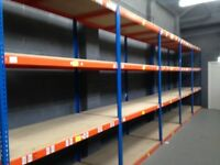Rapid industrial long span shelving ( pallet racking , storage )