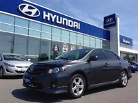 2011 Toyota Corolla S with 25, 900KMS!!!!