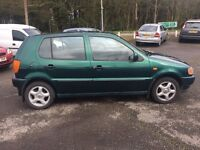 VOLKSWAGEN POLO 1.4 1997 5 DOOR 12 MONTHS DRIVES VERY WELL VERY RELIABLE