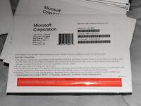 Windows 10 Professional 64Bit OEM DVD Disc & COA (Certificate of Authenticity) License Sticker
