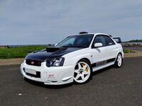 Subaru Impreza WRX STi Type RA - lots of mods, Whiteline, big brakes, SC42 turbo, carbon fibre etc