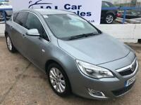 VAUXHALL ASTRA 2.0 ELITE CDTI 5d AUTO 163 BHP A GREAT EXAMPLE INSIDE AND OUT (silver) 2012