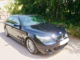 BMW 5 SERIES 525D3.0l M SPORT 08 REG LCI