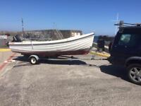 Boat trailer 13-16ft roller coaster Orkney