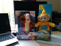 Teletubbies and Tigger toy sets