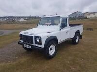 Land Rover defender 110 hicap pickup