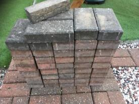 45 paving bricks