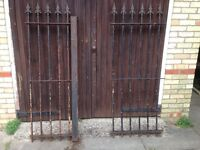 heavy cast iron garden fencing