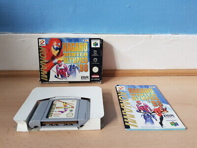 Nagano Winter Olympics '98 N64 Complete Good Con