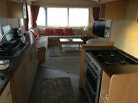 Deluxe Three Bedroom Caravan to let on Havens popular Burnham on sea resort