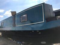 Narrowboat 38 foot project