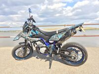 Sale/Swap Yamaha WR125X 2015 Custom Hydrodipped Carbon Fiber & Graphics. 125cc for r1 r6 car ktm